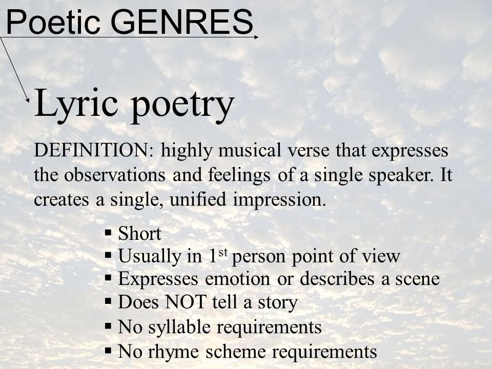 Lyric lyric poem examples : 416 best Writing Poetry images on Pinterest | Writing poetry ...