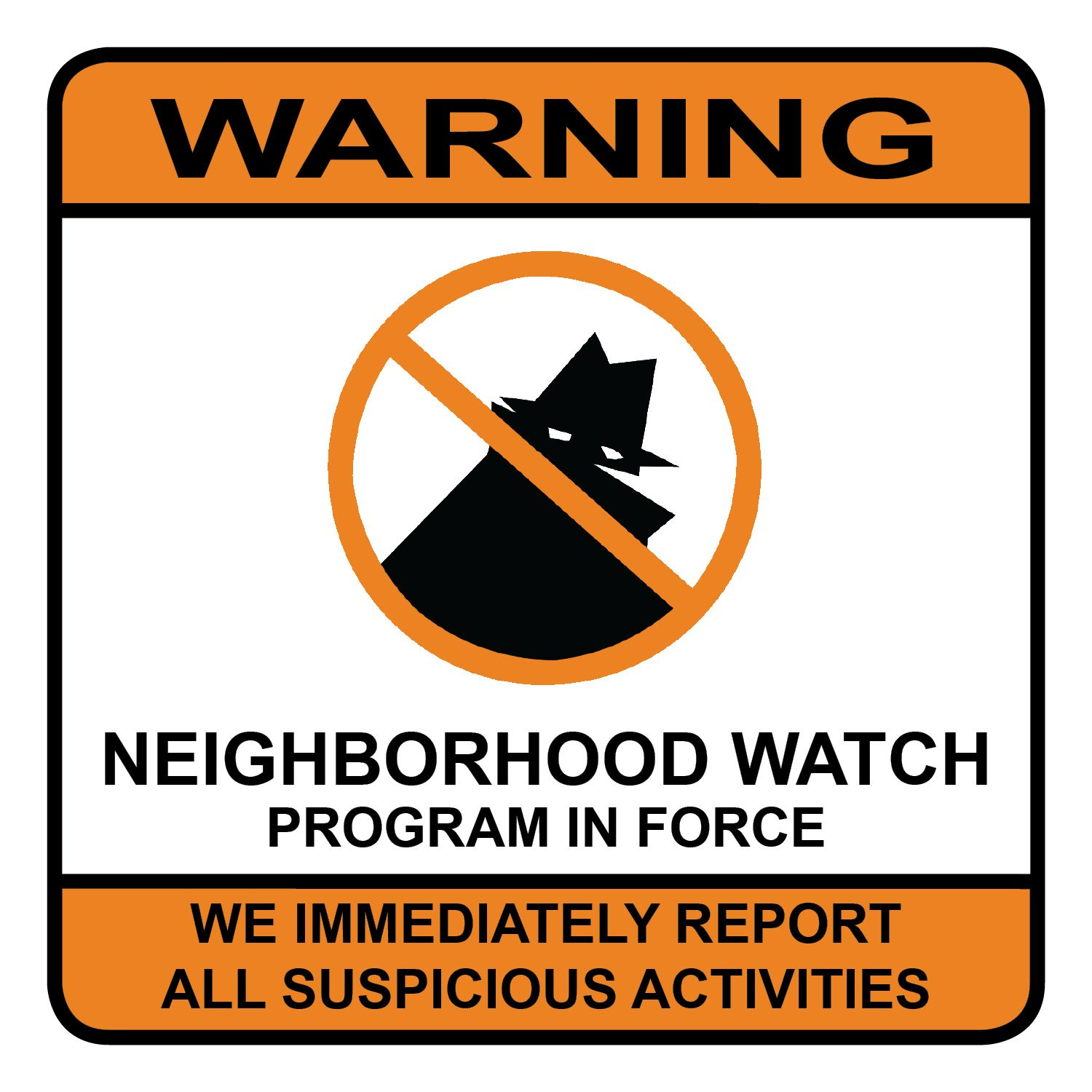 neighborhood watch clipart. announcement neighborhood watch quarterly general membership meeting clipart e