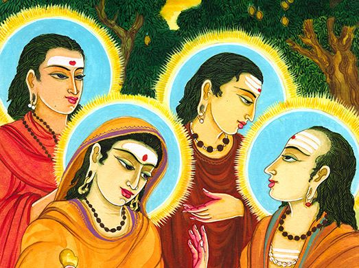 Image of...   Photo merge, Photo art, The monks