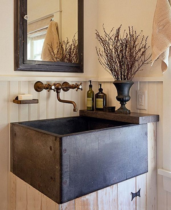 Photo of 8+ Alluring Rustic Bathroom Vanities – Custom Rustic Bathroom Vanities