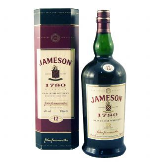 Jameson 12 Year Old 1780 Reserve Irish Whiskey With Box Jameson Irish Whiskey Jameson Whiskey Irish Whiskey