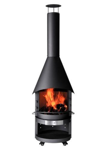 Asado Grillkamin Gartengrill Terrassen Feuerstelle Grill 218cm