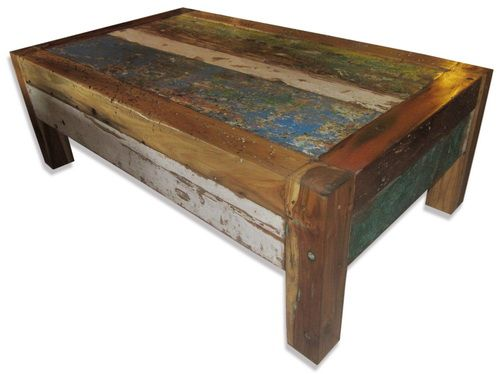 2 drawer old boat timber coffee table. - ashanti furniture and