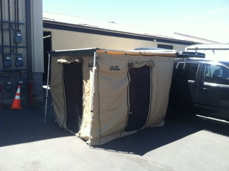 Cascade Vehicle Tent 79 Inch Awning Wall Camping Enclosure