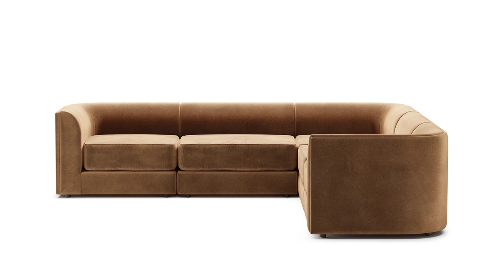 Maura Modular L Shaped Sectional In 2020 Sectional Gorgeous Sofas Versatile Seating