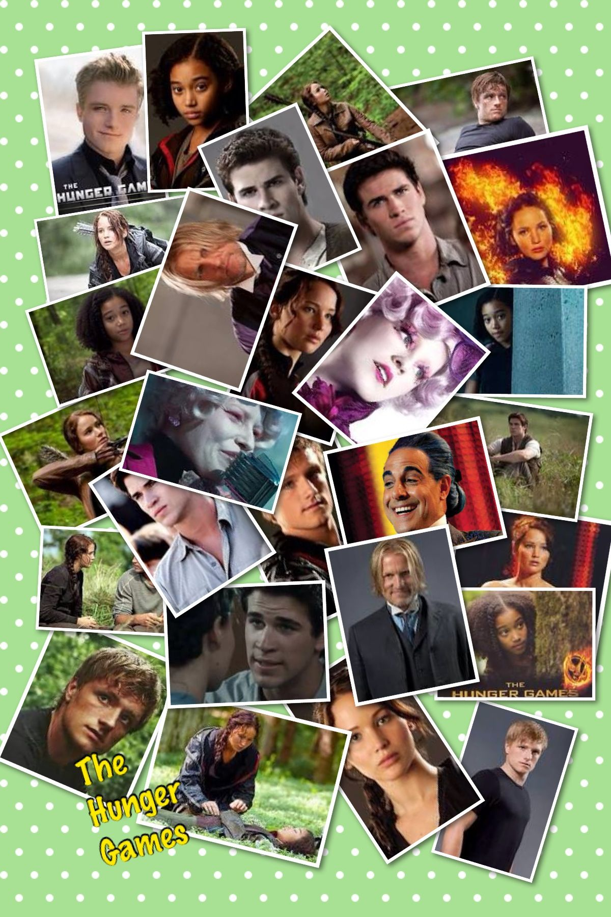 The Hunger Games - Pic Collage( i didn't make this ...