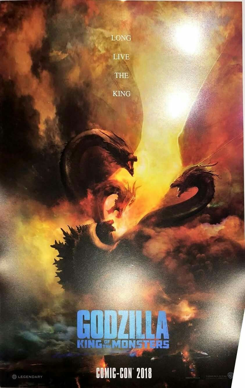Godzilla 2 King Of The Monsters Godzilla Movie Monsters Comic Con