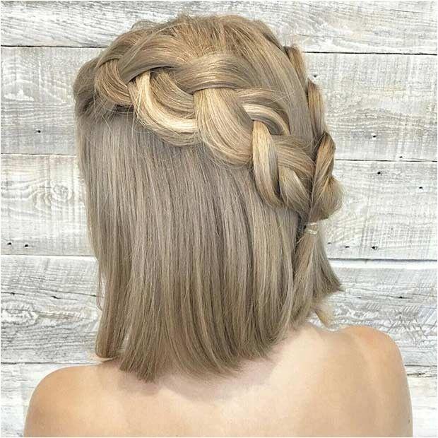 einfache half up frisuren mittleres haar | lange haare