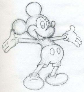 ✐ Mickey Mouse zeichnen lernen – Schritt für Schritt Tutorial