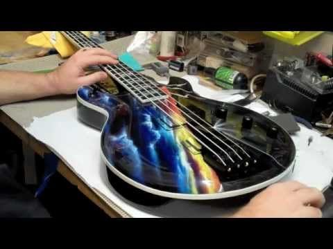 Atomic Custom Guitars Night Ranger Jack Blades Cf98 Californium Bass