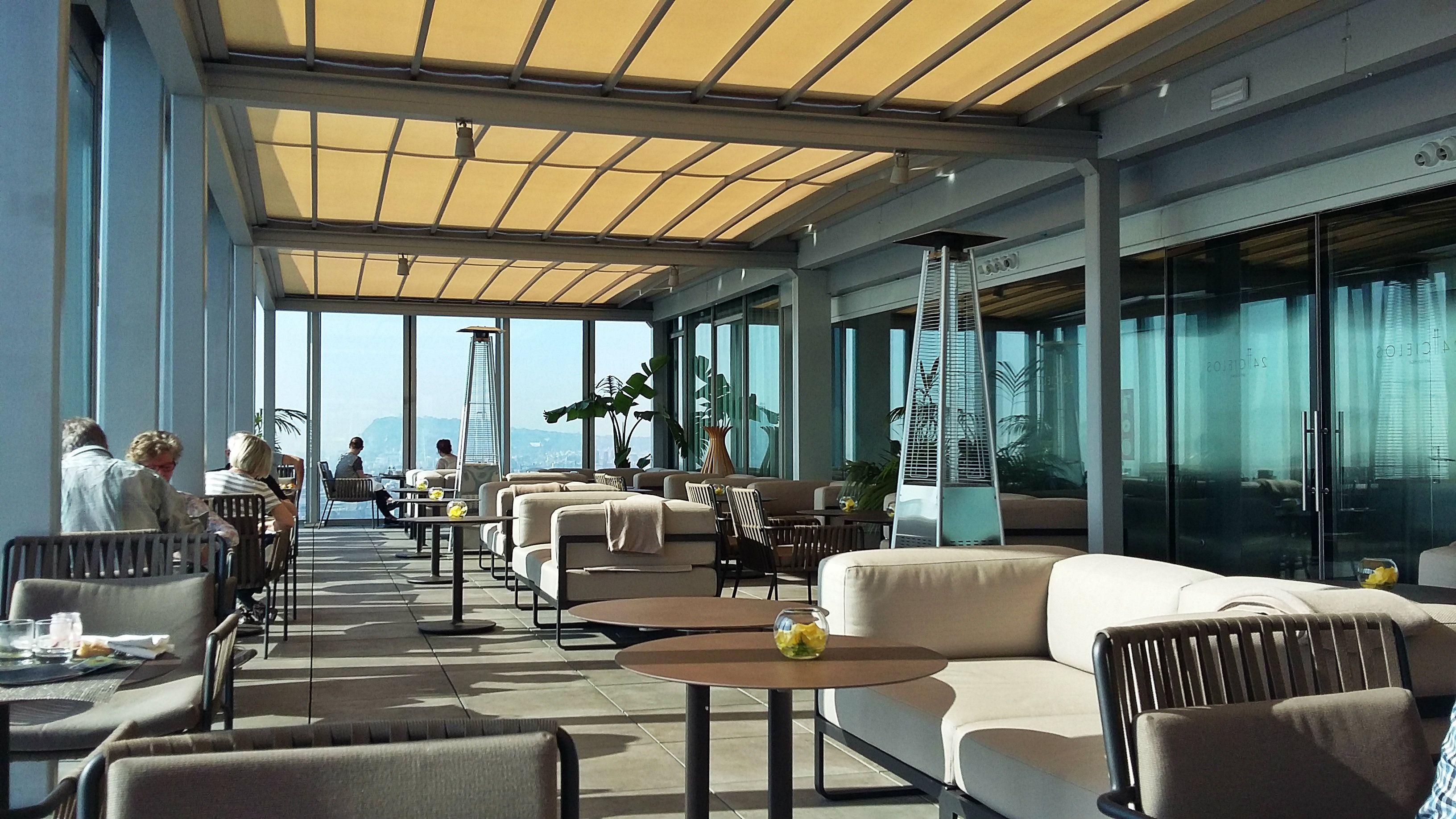 bar cielos at melia barcelona sky hotel barcelona melia