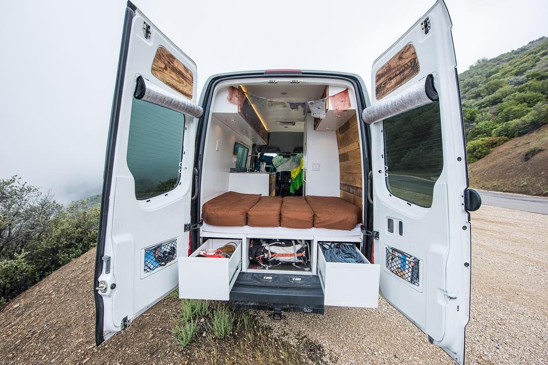 Custom Sprinter Conversions Townsend Travel Trailers