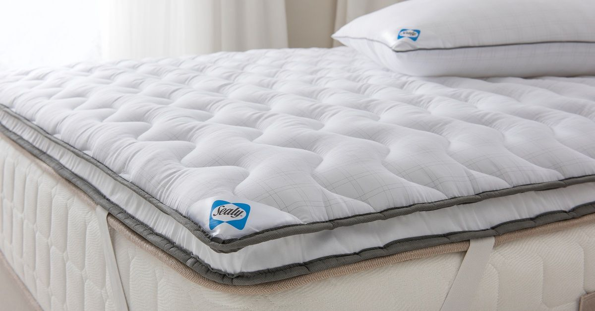 Sealy Dual Layer Mattress Topper Layered Mattress Mattress Topper Single Mattress