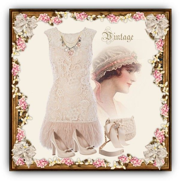 """Flapper"" by danjo on Polyvore"