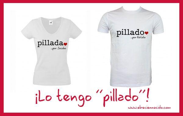 Camisetas personalizadas para San Valentín - Imagui