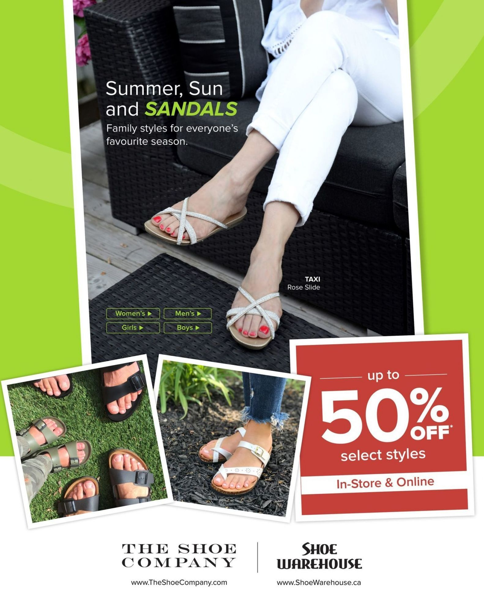 Flyer The Shoe Company Canada From Tuesday June 12 2018 To Tuesday June 26 2018 Shoe Company Shoes Flyer
