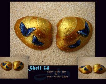 32 de Shell Calmar las olas concha de mar pintadas a por Jabashop