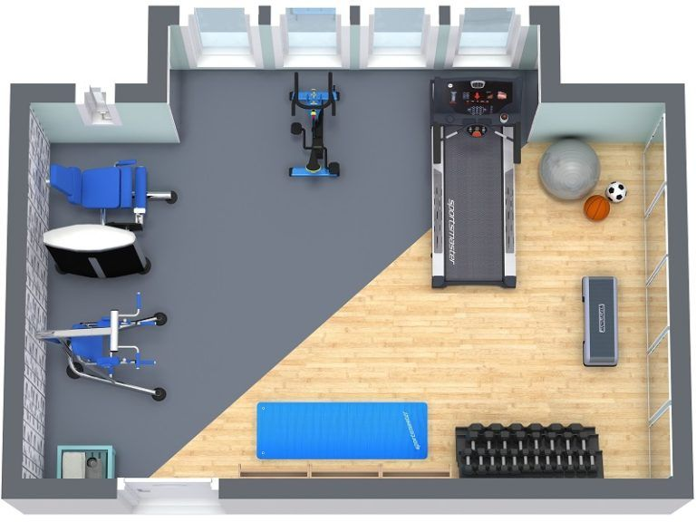 New Gym Equipment Home gym flooring, Gym design, Open