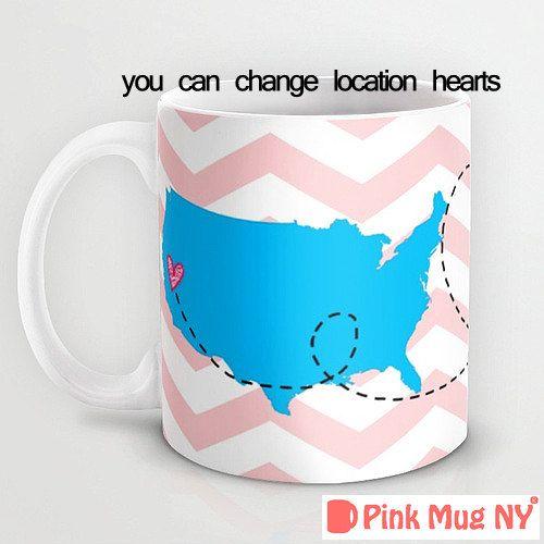 Personalized mug cup designed PinkMugNY  Long by PinkMugNY on Etsy, $11.95