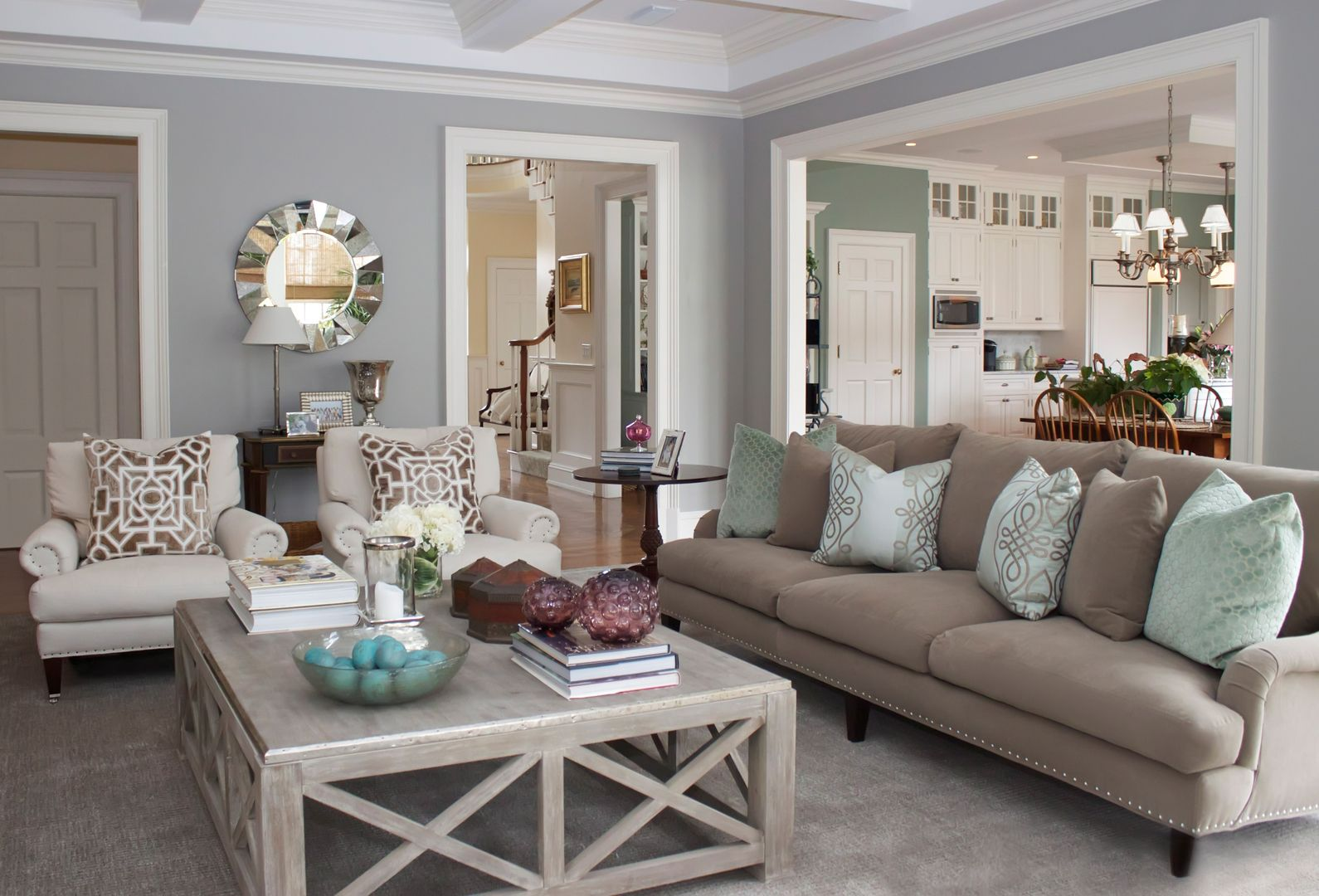 Charette Interior Design, Ltd. Portfolio Living Rooms