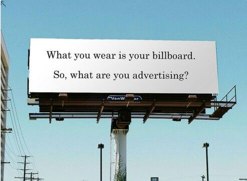 So what are you advertising?