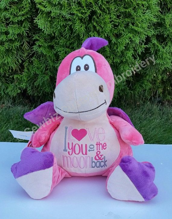 Personalized baby gift stuffed animal dragon stuffed animal personalized baby gift stuffed animal dragon stuffed animal monogrammed negle Images