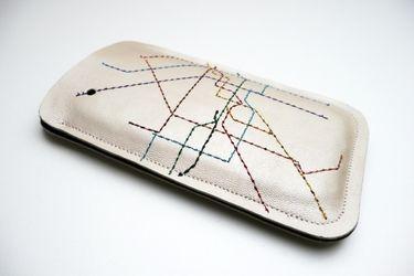 Smartphone Hülle mit Berliner U-Bahn Plan <3