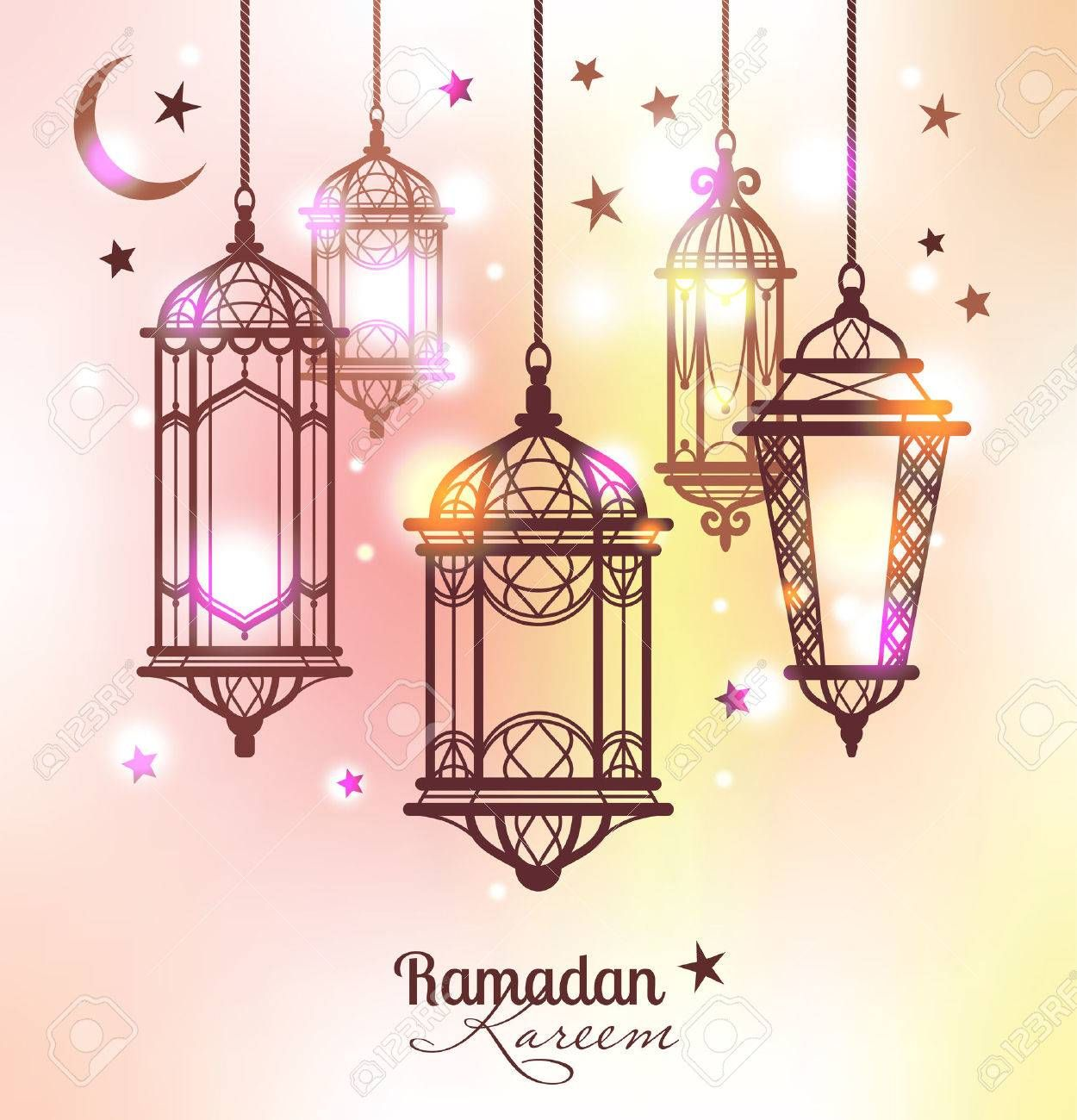 Image Result For Ramadan Kareem Seni Islami Ramadan Desain Banner