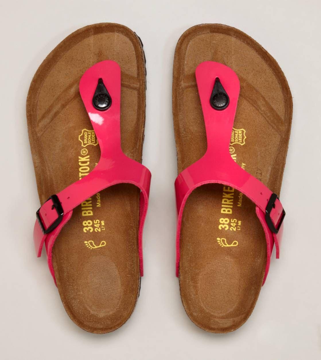 dab4738ef900 Birkenstock Gizeh Sandal- pink. I kinda like these  Lorrie Cerny (and I do  love birkenstocks!)