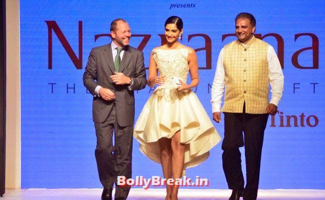 Sonam Kapoor walks on ramp for Rio Tinto's Nazraana. at IIJW 2014 Sonam Kapoor Pics in White Gown Dress at IIJW Fashion Show 2014 - Sonam Kapoor Ramp Walk Pics in hot White Tight Dress , #fashionshow #sonamkapoor #gown #iijw #dress #bollybreak #bollywood #india #indian #mumbai #fashion #style #bollywoodfashion #bollywoodmakeup #bollywoodstyle #bollywoodactress #bollywoodhair