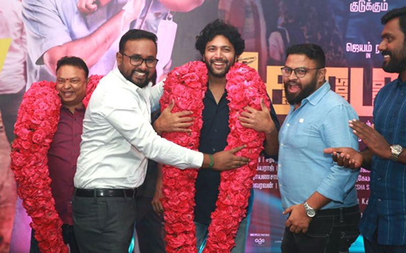 Jayam Rav At Comali Movie Success Party