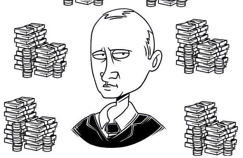 De Russische president Vladimir Poetin heeft de voorbije vijftien jaar meer dan twee miljard euro aan overheidsgeld verduisterd. Dat blijkt uit gelekte bestanden van het Panamese advocatenkantoor Mossack Fonseca. Via een uitgebreid netwerk van vertrouwelingen werd het geld via offshoreconstructiesversluisd.