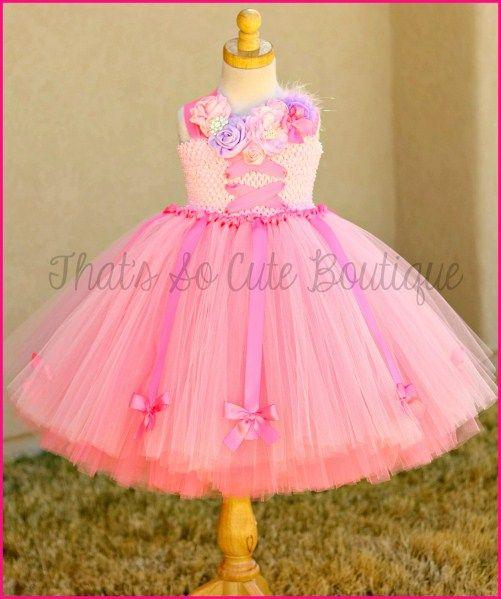 fb9299de5 Ballerina Princess Tutu Dress by That's So Cute Boutique | Birthday ...