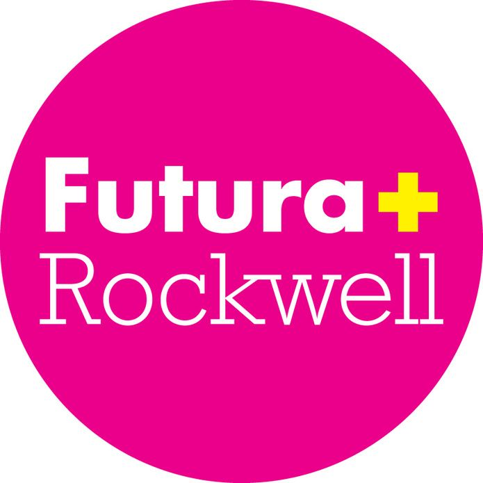 Font Combinations: Futura + Rockwell | Typography | Font