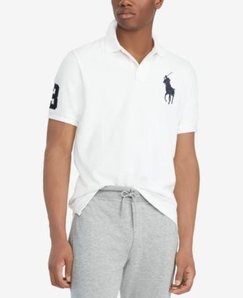 4b2e5312e Polo Ralph Lauren Men s Big   Tall Classic Fit Big Pony Mesh Cotton ...