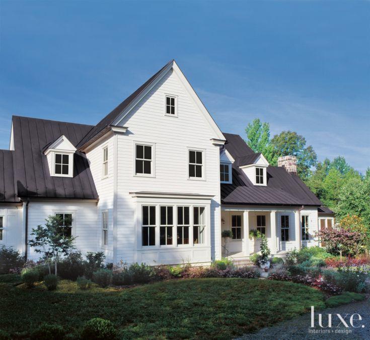 Luxury Farm Homes: Exteriors & Architecture