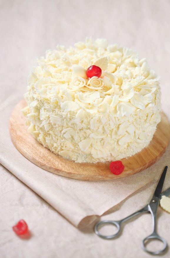 """Verdade de sabor: Торт """"Белый лес"""" / Bolo Floresta Branca"""