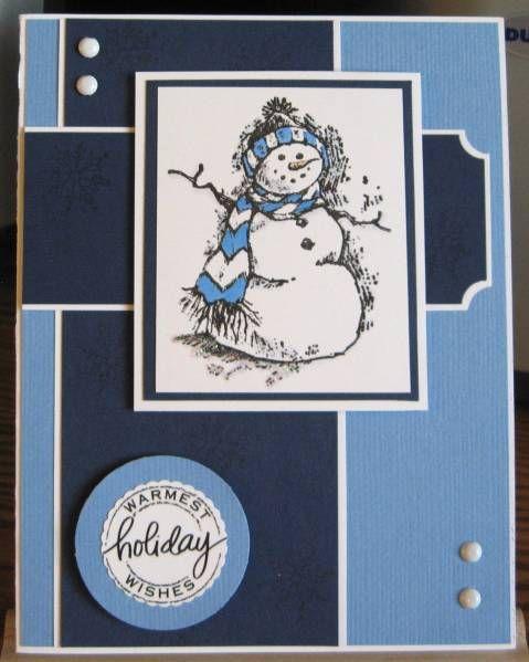 SC213 - Warm Snowman Wishes