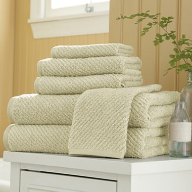 5 Linden Street Quick Dri Textured Towels Jcpenney With