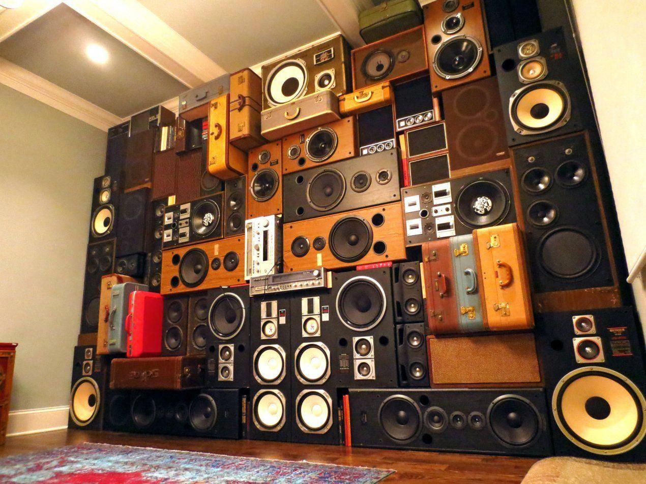 Boomcase wall speakers home theater setup dj room
