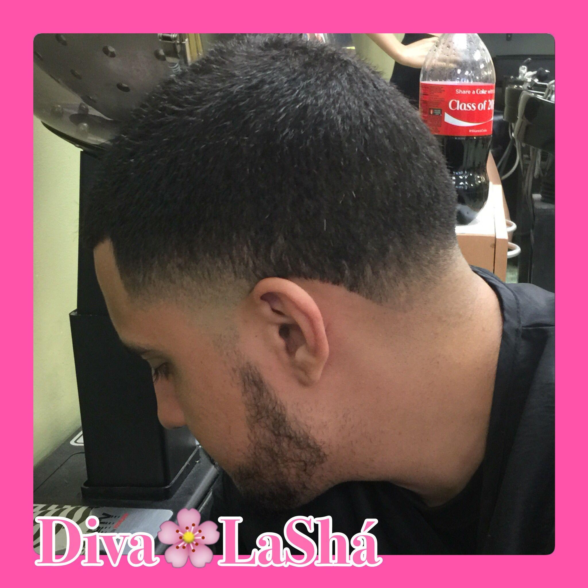Blowout Temp Fade Fades Female Barber Latin Hair