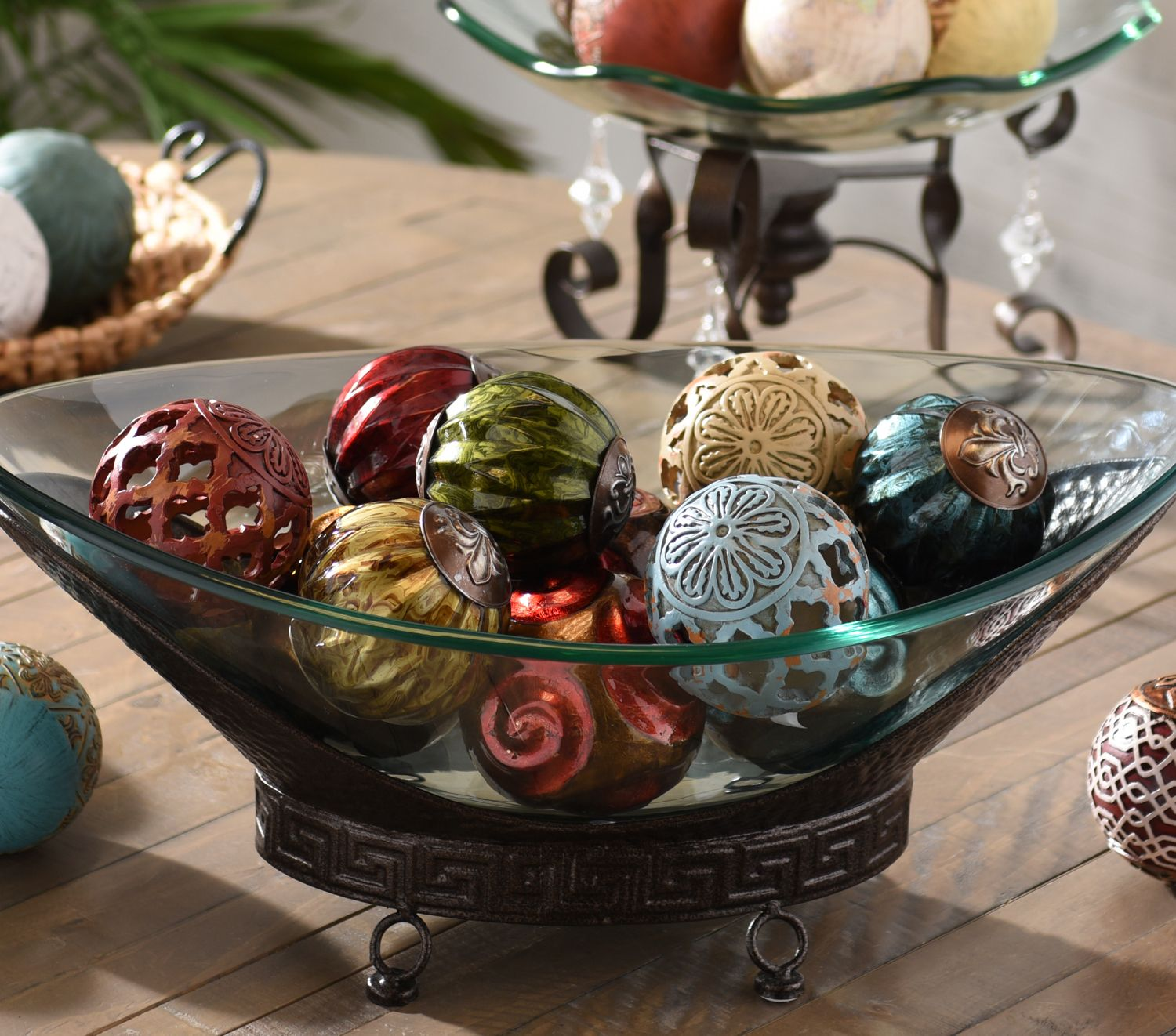 Decorative Orbs Are Only As Beautiful The Bowl You Put Them In Kirkland S Has Unique Designs That Fit With Every Type Of Home Decor Style
