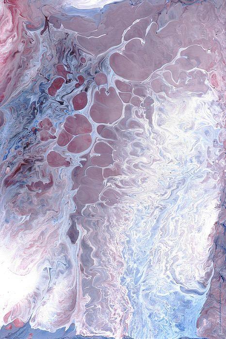Acrylic Pour November 2001 Canvas Print / Canvas Art by Carl Deaville