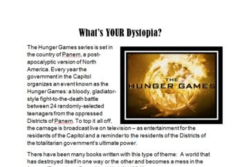 the hunger game by suzanne collins essay One of the most influential, albeit controversial, book series of 2008 is written by suzanne collins, an author who previously had been a children's television writer collins, in her new series the hunger games, delves into the dark, questionable subject of child versus child combat the.