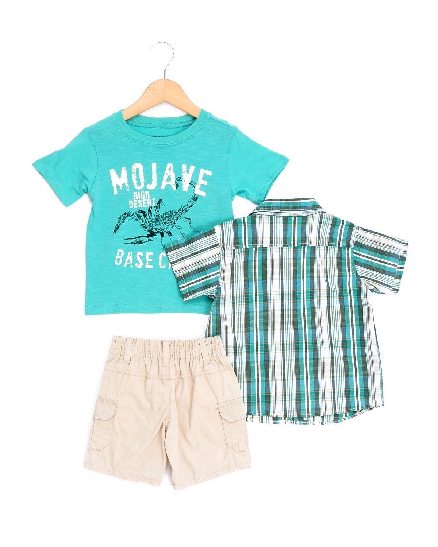 """Boyz Wear By Nannette Toddler Boys' """"Mojave"""" 3-Piece Set http://www.amazon.com/Ed-Hardy-Womans-Jacket-058-060687/dp/B00BUD4R1Y/?tag=unrealbargain-20"""