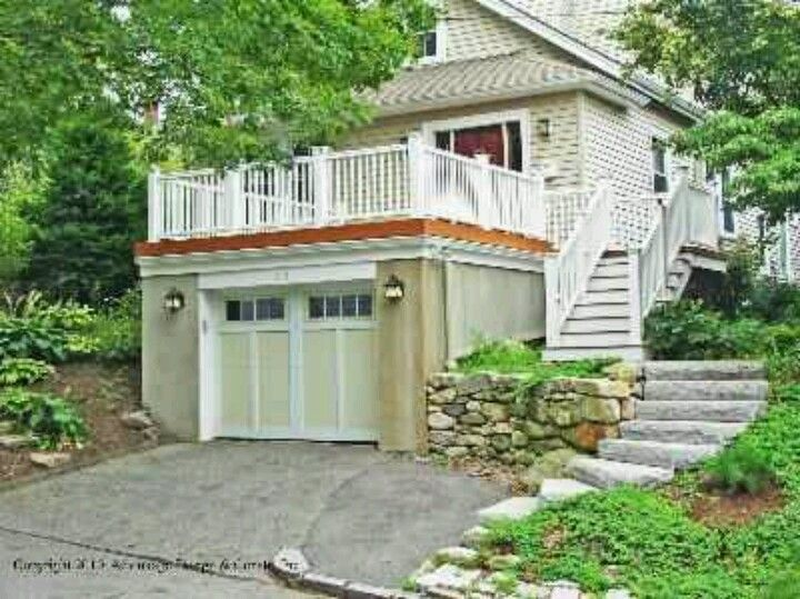 Best Garage With Rooftop Deck Home Things To Do Pinterest 400 x 300