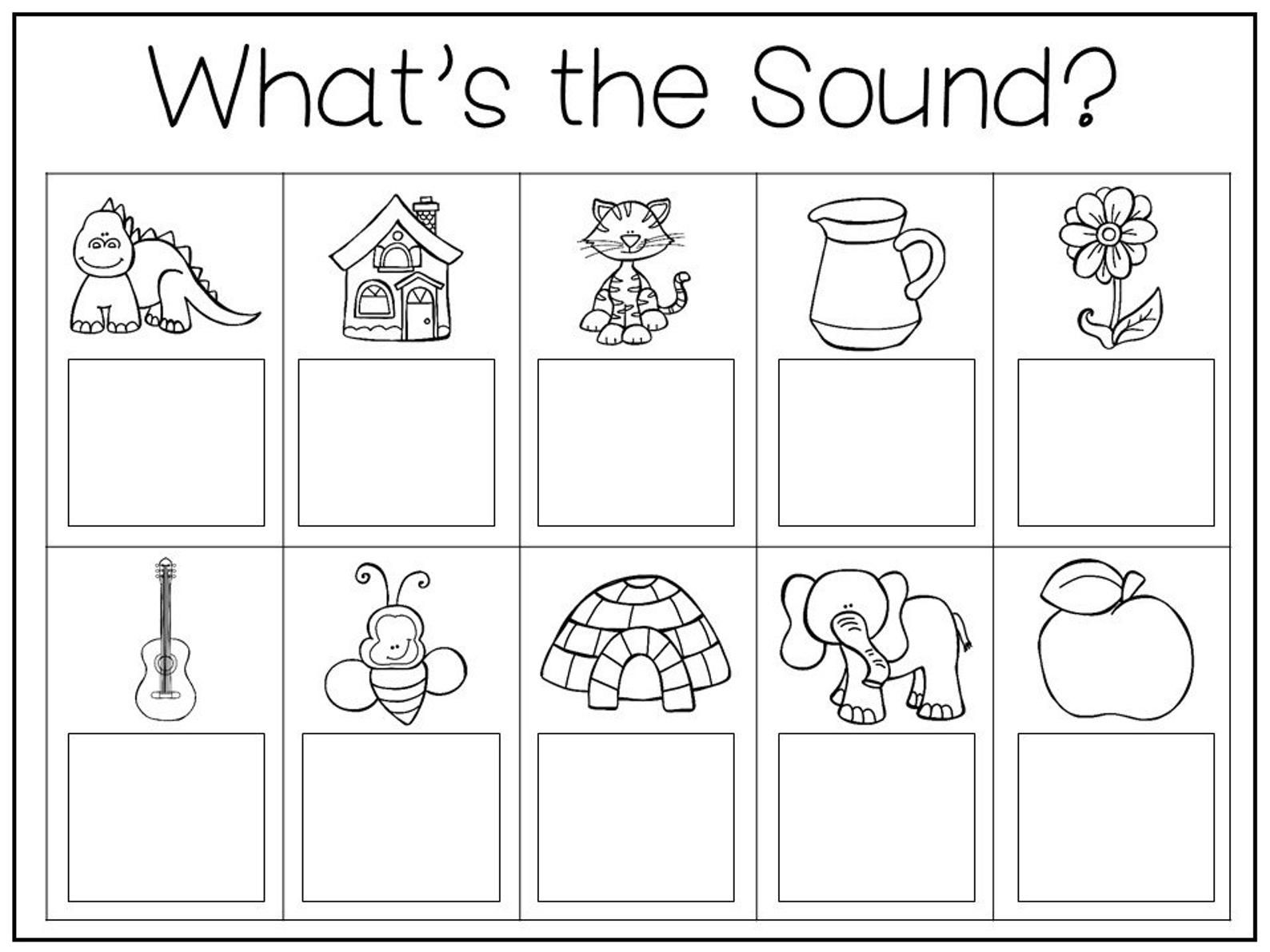 35 Printable Letters And Sounds Work Mats Worksheets