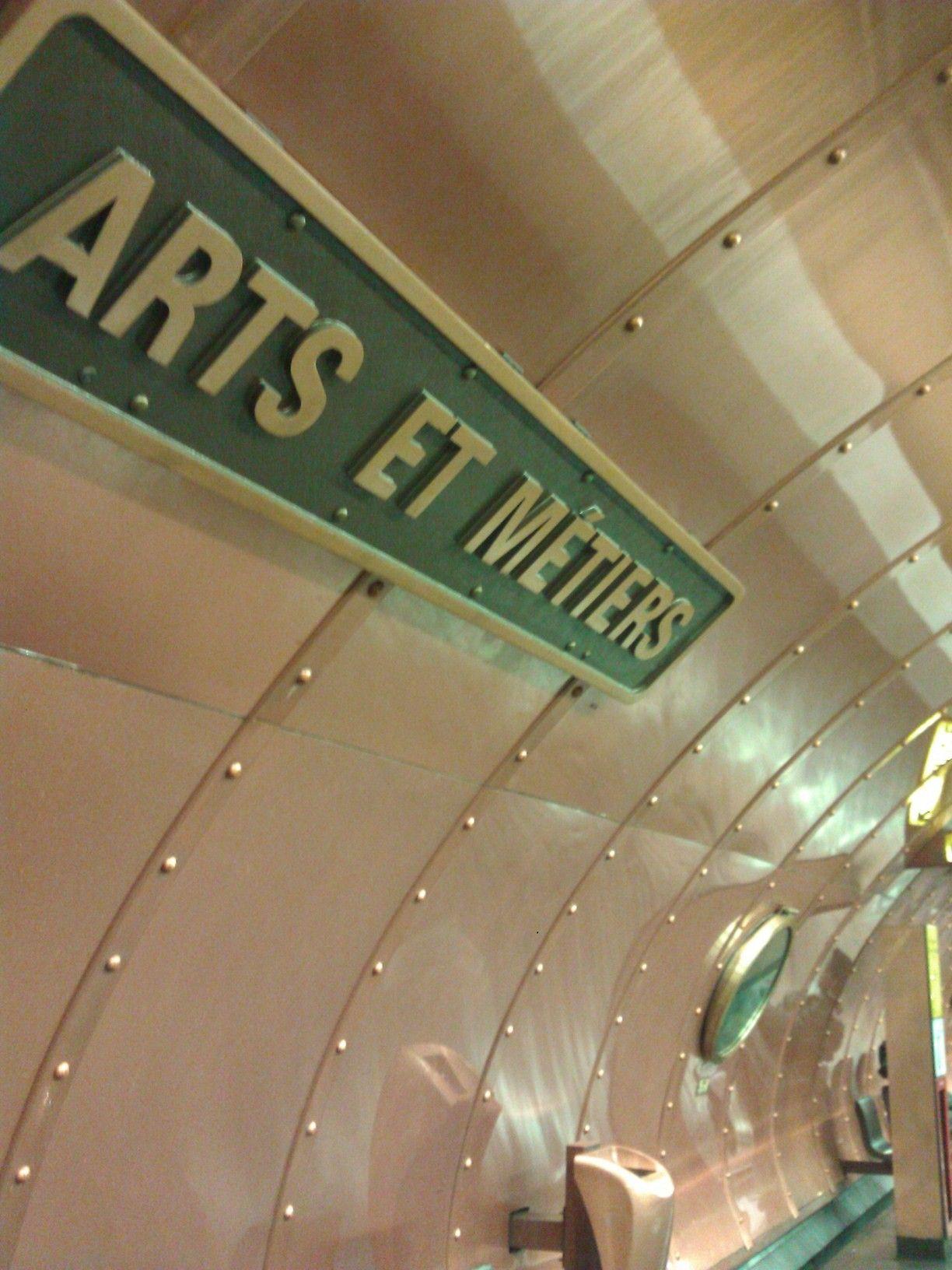 Arts et Métiers station, Paris III