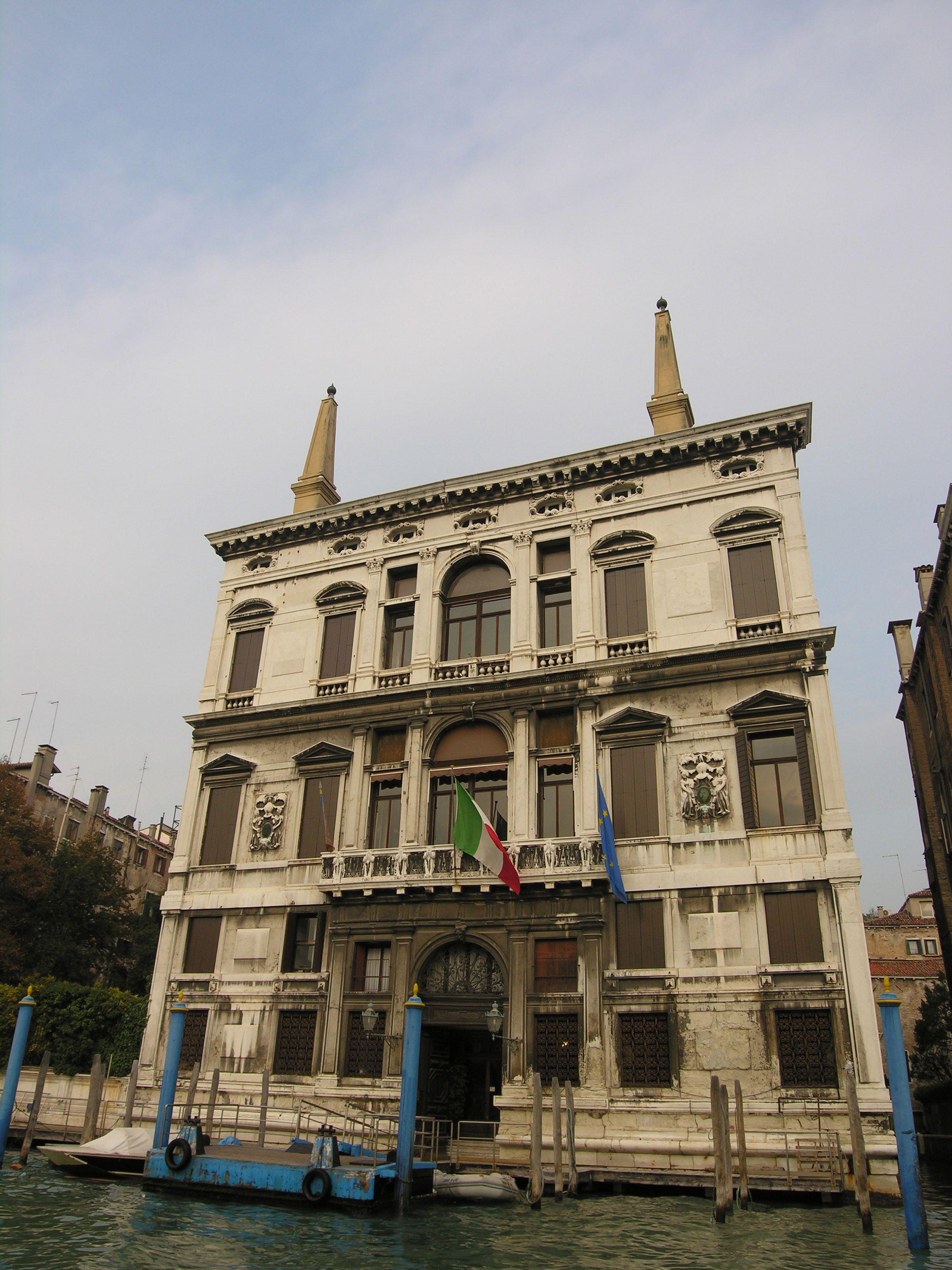 Grand Canal - Venice, Italy - Palazzo Coccina Tiepolo Papadopoli