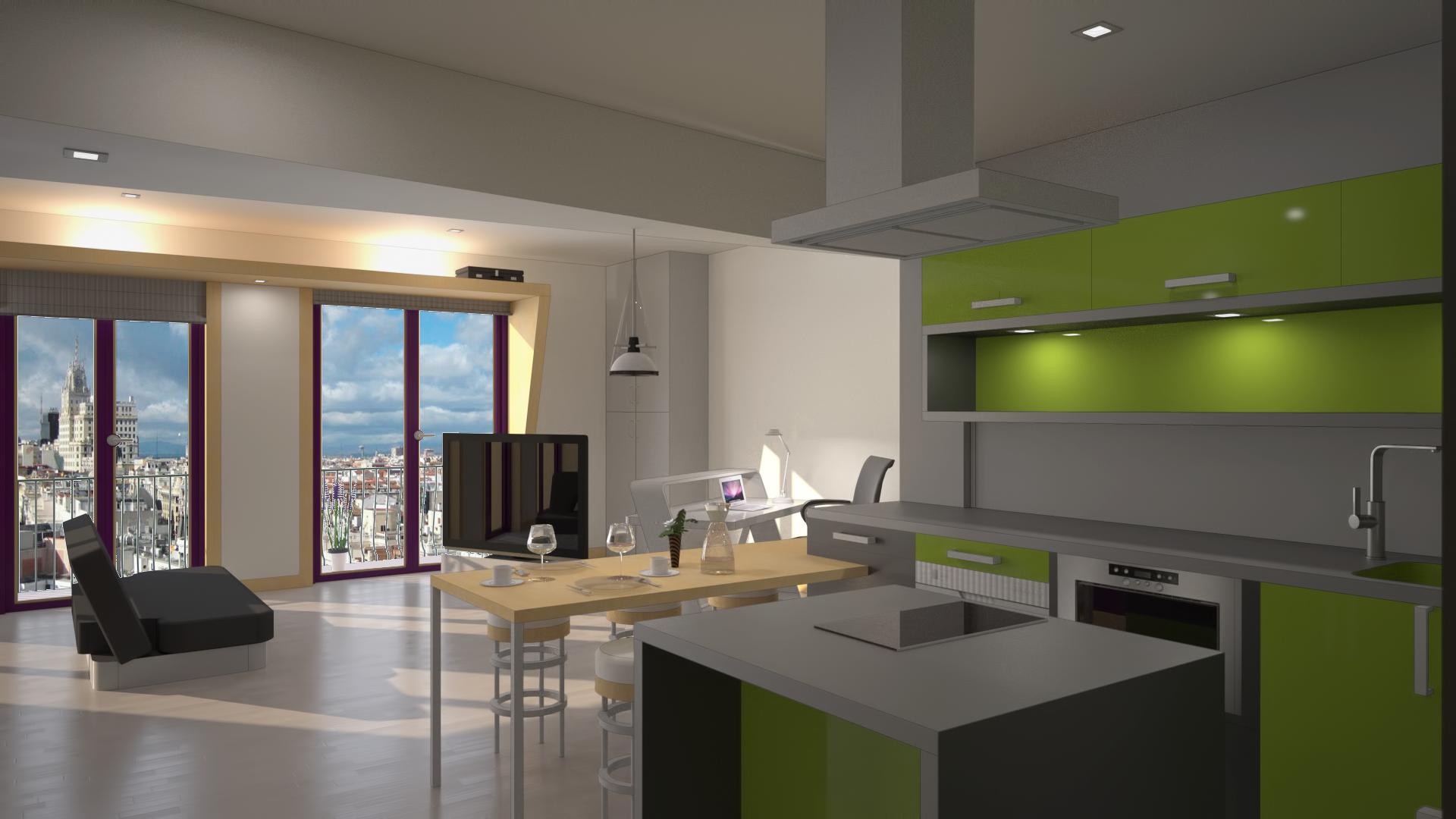 ideas de decoracion de estudio estilo diseado por miguel reguero arquitecto